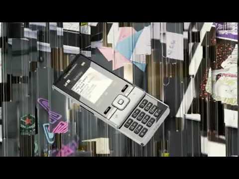 Sony Ericsson T715 - Video Promo