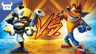 CRASH BANDICOOT vs NEO CORTEX - RAP BATTLE | Dan Bull vs SAV