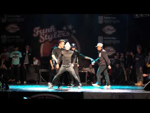 funk stylers vol.5 LEADMOS CREW guest show