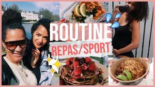 Une Semaine Dans Notre Alimentation + Sport // Idées Repas Healthy