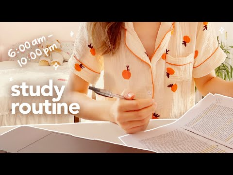 🍊24 hour productive routine ⏰ morning to night