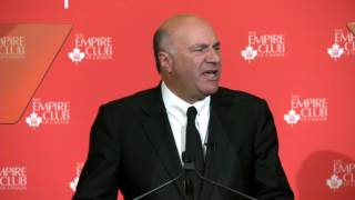 Kevin O'Leary Speaks At The Empire Club