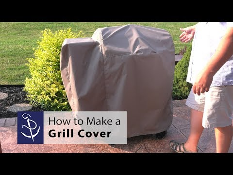 How to Make a Grill Cover for Wood Pellet Grill