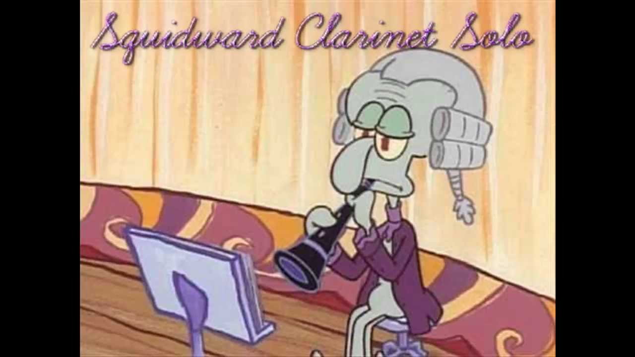 squidward clarinet solo youtube