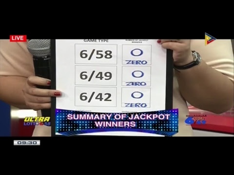 PCSO 9 PM Lotto Draw, February 6, 2018
