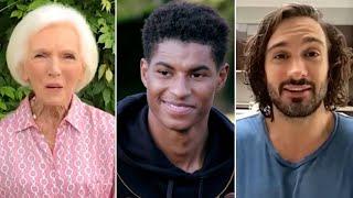 video: Queen's Birthday Honours list: Marcus Rashford, Joe Wicks and record-breaking quiz host included