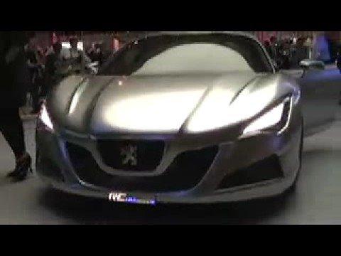2008 Paris Motor Show - Peugeot RC Hymotion 4