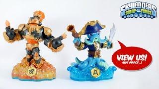 Skylanders Swap Force All Toy Figures unboxed