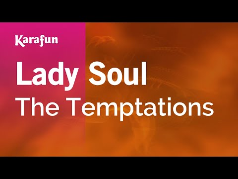 Karaoke Lady Soul - The Temptations *