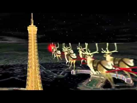 NORAD Tracks Santa 2015 - Paris, France (Spanish/español)