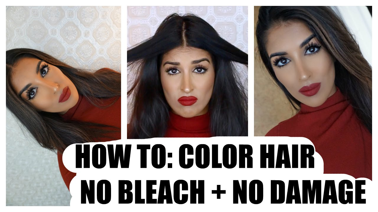 how to get color out of your hair without bleach