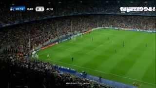 Alexandre Pato ● Insane Speed Goal vs BARCELONA