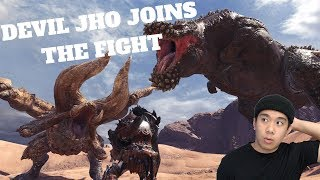 DEVIL JHO JOINS THE FIGHT - Monster Hunter: World (PC) Live Stream and More