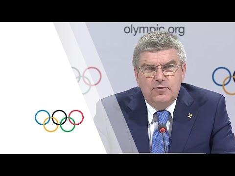 IOC President Press Conference - 03.Aug.2015 | 128th IOC Session