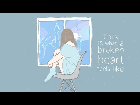 This Is What A Broken Heart Feels Like (lyric Video) - Marina Lin