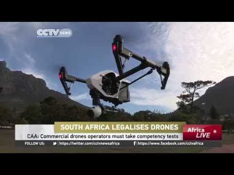 South Africa Legalises Drones
