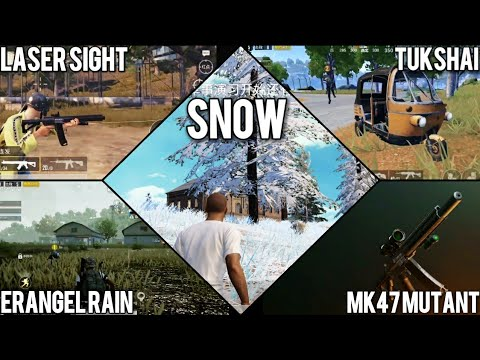 Pubg Mobile 0 11 Update What S New Snow New Weapon New Vehicle - pubg mobile 0 11 update what s new snow new weapon new vehicle and more