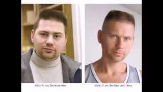 Как они похудели. Фото До и После