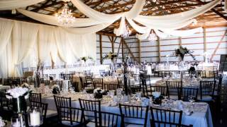 Barn Wedding Set-up