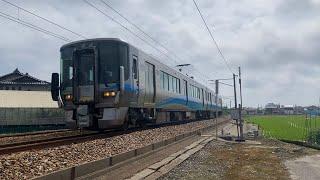 あいの風とやま鉄道534M  521系AK02編成