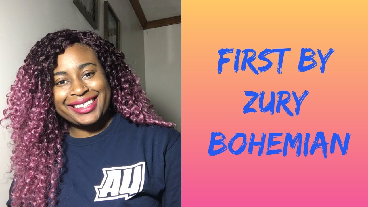 First Hair By Zury Bohemian Som Rt Rose Hair Review Youtube