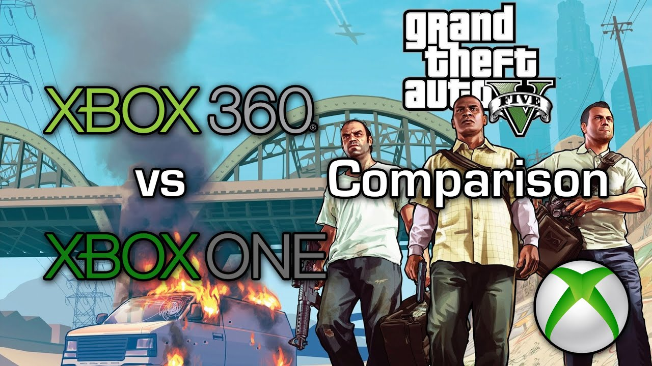 Grand Theft Auto V - Xbox 360 vs Xbox One - Graphics ...