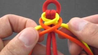 Repeat youtube video How to Make a Double Corset Spine (Paracord) Bracelet by TIAT