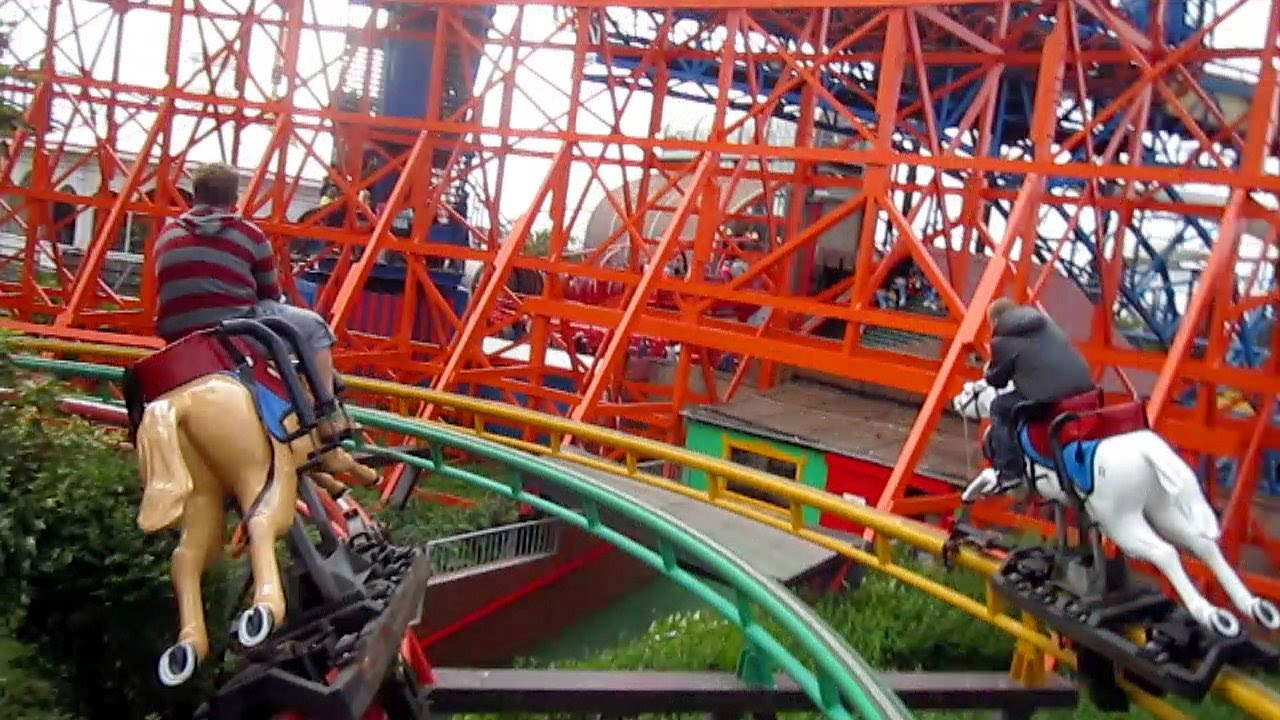 Rides at the pleasure beach