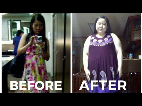130 POUNDS WEIGHT GAIN (time-lapse photos) Before & After | Story Time