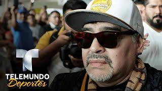 Maradona 0-1 Vecinos: Le bloquearon la casa y no lo dejan mudarse | Liga MX | Telemundo Deportes thumbnail