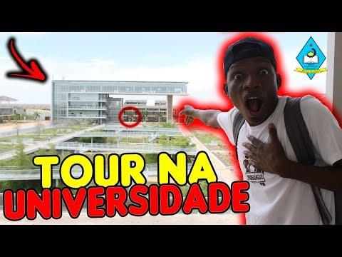 TOUR NA MAIOR UNIVERSIDADE DE ANGOLA (ÁFRICA) [SÓ+1DIA #1]