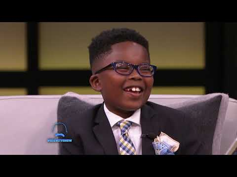 An 8-Year-Old Walking Dictionary || STEVE HARVEY