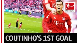 Coutinho's Great Show - First Goal & Assist Thanks To Lewandowski's Ultimate Team Gesture