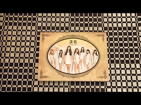 Unboxing | AOA 1st Single Album - Angels Story