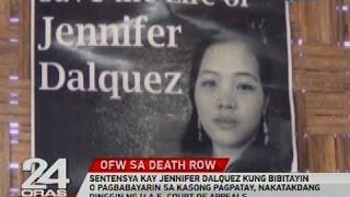 Sentensya kay Jennifer Dalquez  sa kasong pagpatay, nakatakdang dinggin ng U.A.E. Court of Appeals