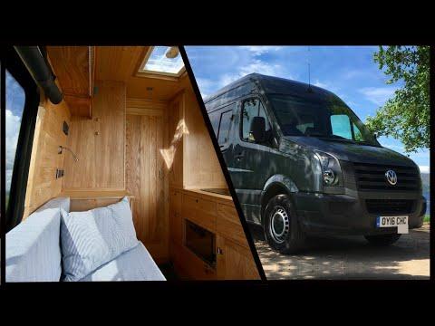 LAND YACHT! Incredible NAUTICALLY Inspired VW Van Conversion