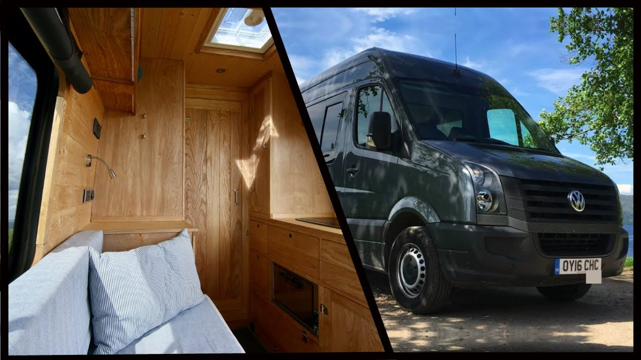 a8fd523e8f2 LAND YACHT! Incredible NAUTICALLY Inspired VW Van Conversion - YouTube
