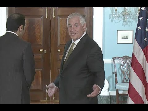 Tillerson On Exit Rumors: