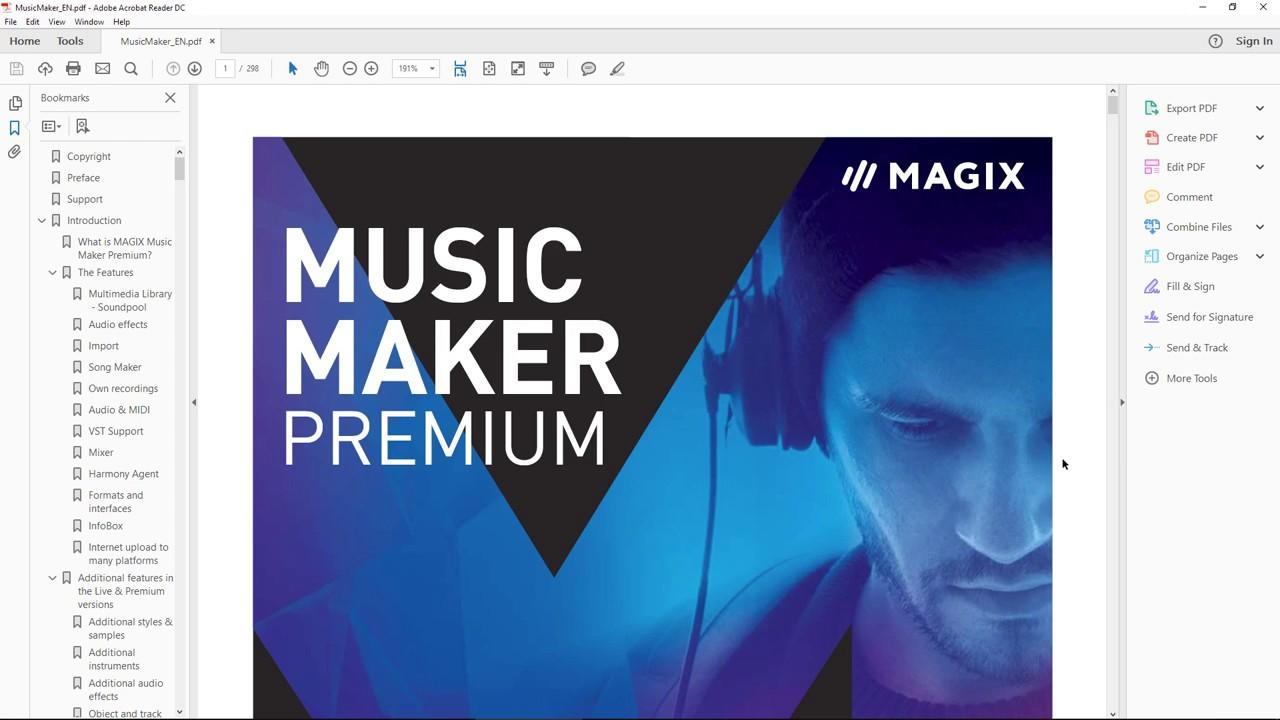 Magix Music Maker - The User Manual