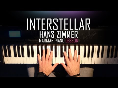 How To Play: Hans Zimmer - Interstellar | Piano Tutorial Lesson + Sheets
