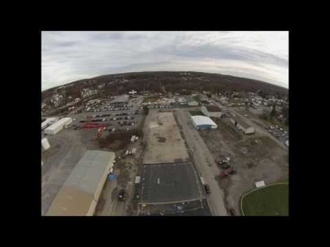 Commercial Property Fly-over Philipsburg, PA