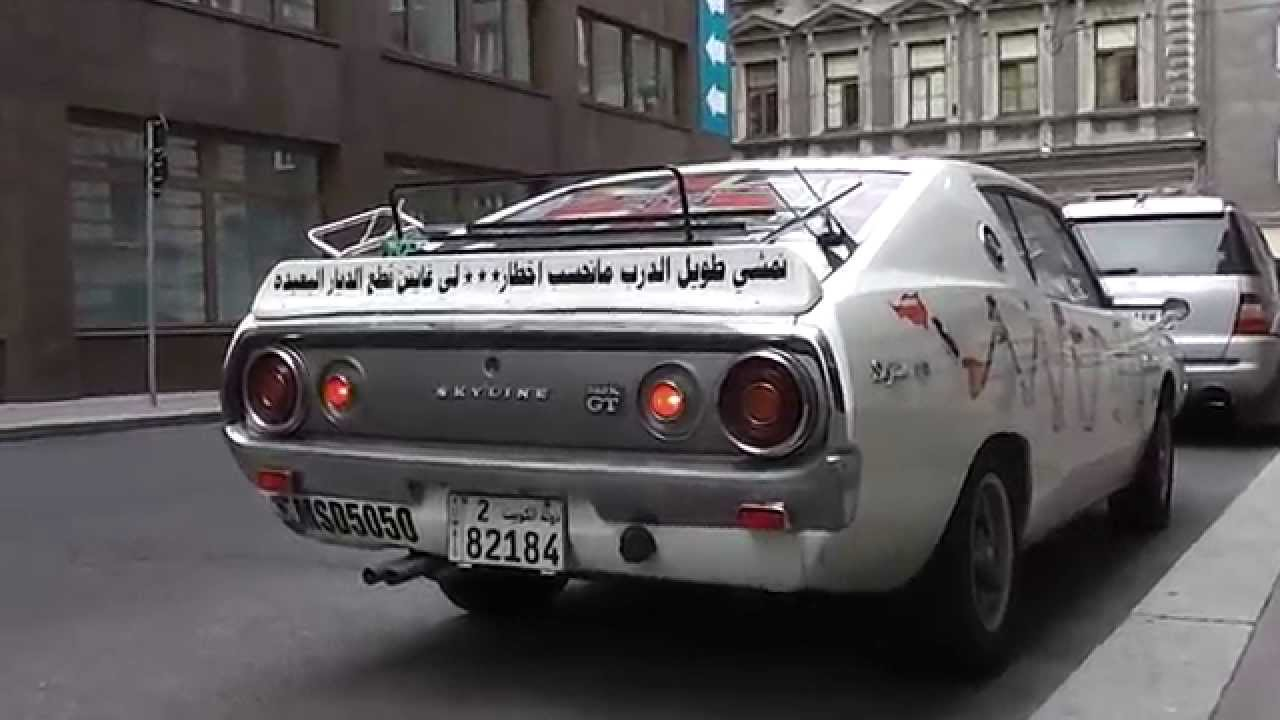 Arab Skyline 240k Gt Crazy Acceleration Sound Start Up