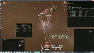 EVE online Solo Kill Titan Dark Blood  / Соло убийство Dark Blood Titan