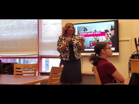 Girls Inc Westchester program at Benjamin Turner Middle School