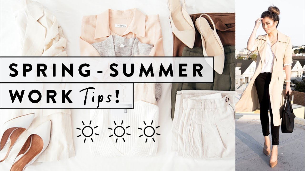 7 Work Fashion Tips for Spring & Summer  How to Dress for Work Spring to  Summer  Miss Louie