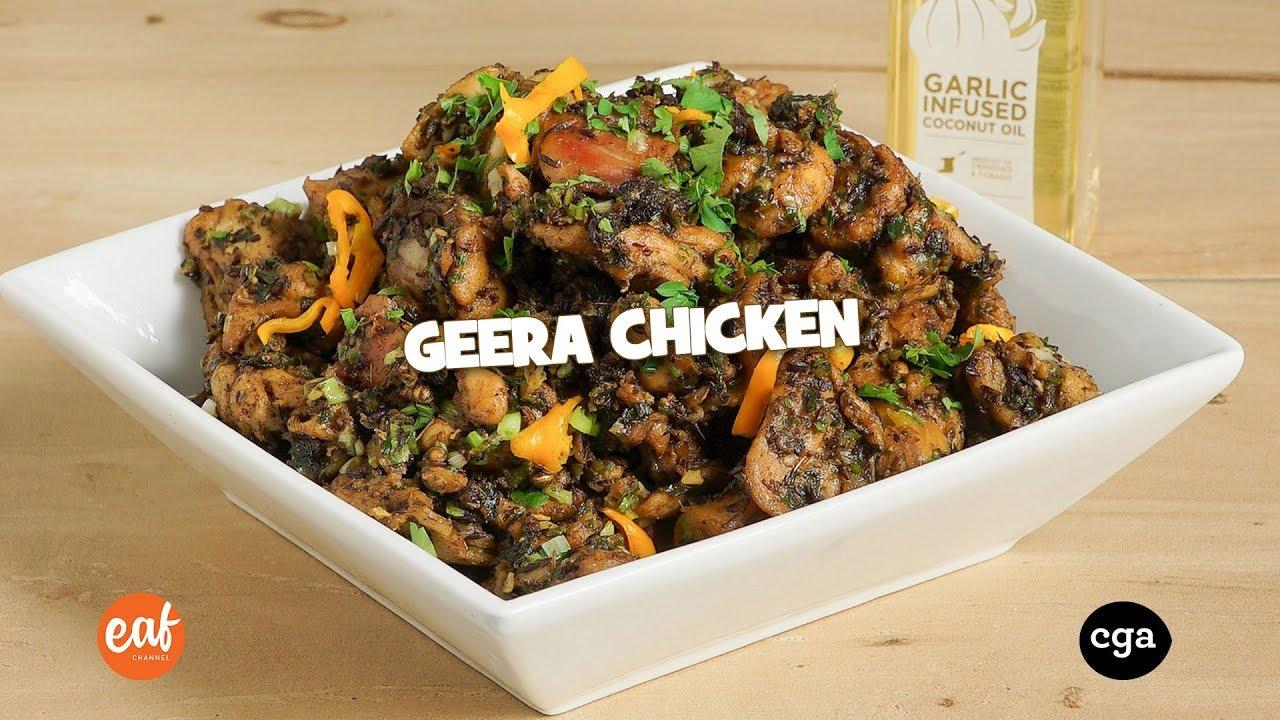 geera chicken with chef jason peru youtube