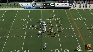 Madden NFL 20 RAIDERS vs PACKERS Week 7 LIVE STREAM