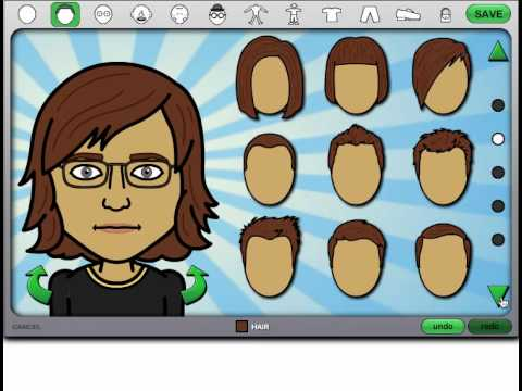 Bitstrips Tutorial Creating New Characters For Your
