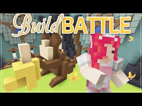 Minecraft BUILD BATTLE ♡ Monkey!