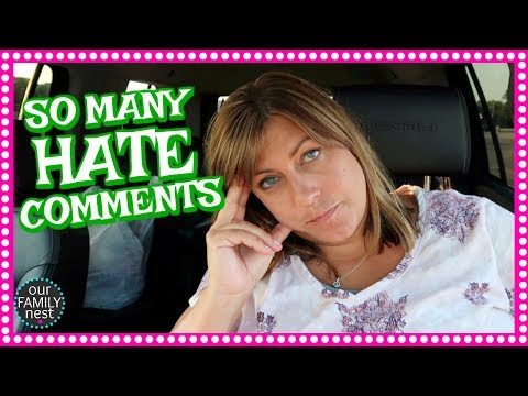 REACTING TO THE HATE COMMENTS